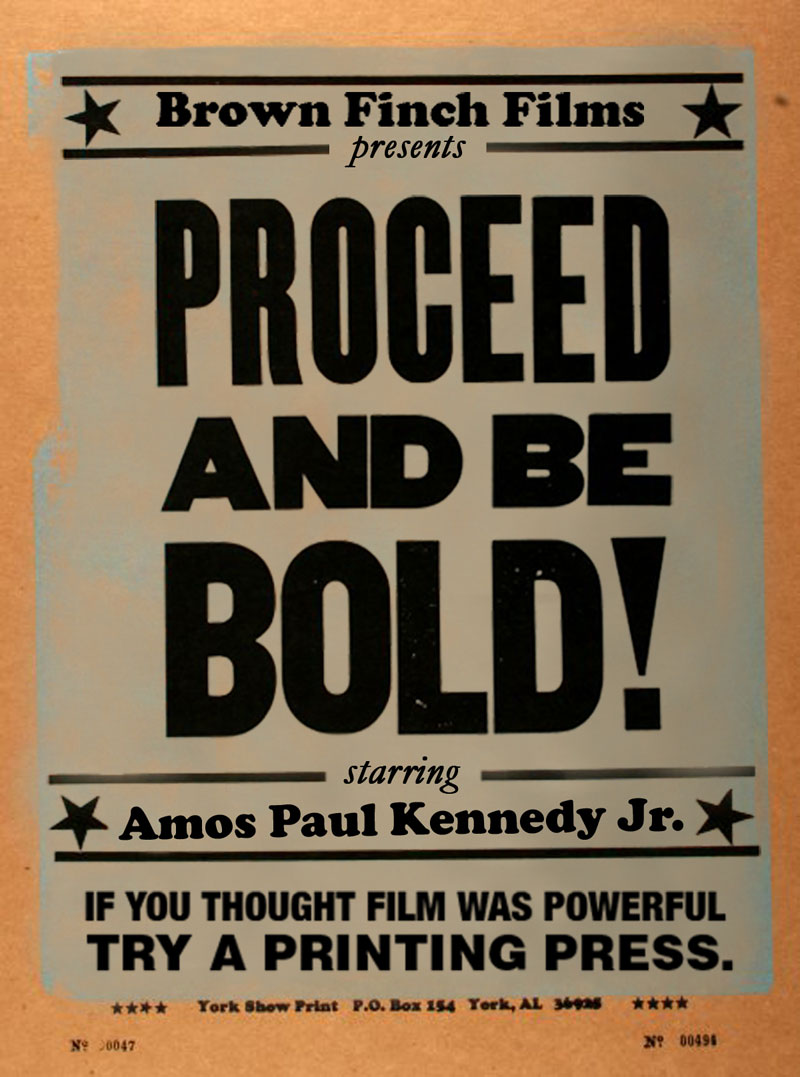 proceed and be boldsm DIY Film Distribution